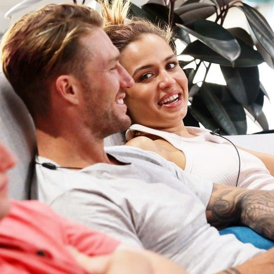 Sophie and Chad were romantically linked during their stint on *Big Brother*.