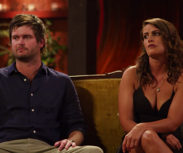 Harry and Stacey confirmed to host Natalie that things hadn't worked out.