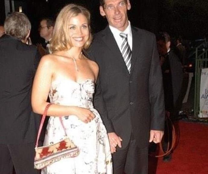 Logies flashback: The fashion designer accompanies his wife to the 2004 event.