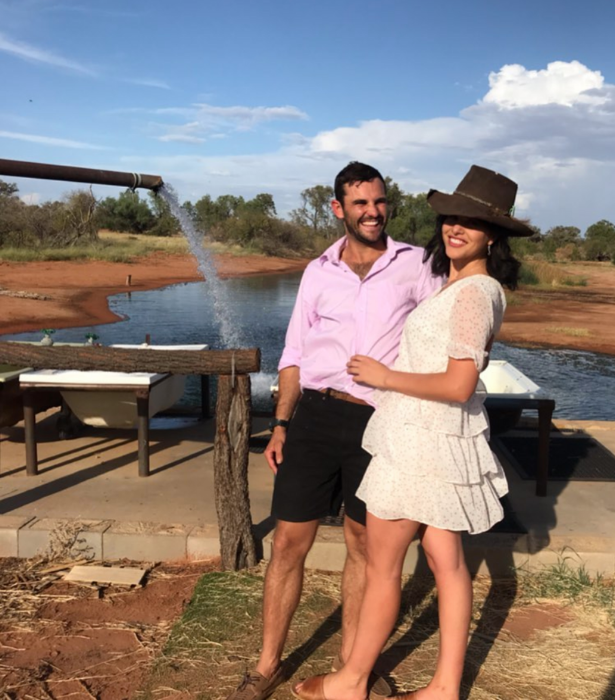 """The happy couple confirmed their relationship post-show with a cute snap together. <br><br>  """"I think everyone got quite a unexpected surprise at the reunion tonight! 🎉 @henriettalily_ Thank you for being there beside me on the couch tonight and challenging me through this entire experience you made every moment truly unforgettable 💗 #farmerwantsawifeau#realloveisback @farmeraustralia @channel7,"""" Alex wrote."""