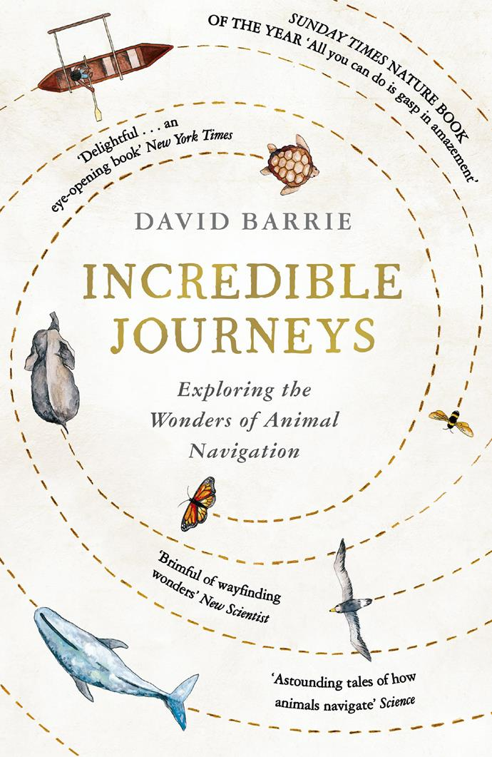 "***Incredible journeys* by David Barrie** <br><br> *Non-fiction* <br><br> ""The first question I want to address is: how do animals – including humans – find their way around? We are abandoning the basic navigational skills on which we have relied for so long."" <br><br> ""We can now fix our position at the press of a button,"" laments former ferry deckhand, now award-winning author, sailor and cutting-edge navigator David Barrie.  <br><br>Barrie is the great-great-nephew of *Peter Pan* author J.M. Barrie and his gift for storytelling is equally impressive."