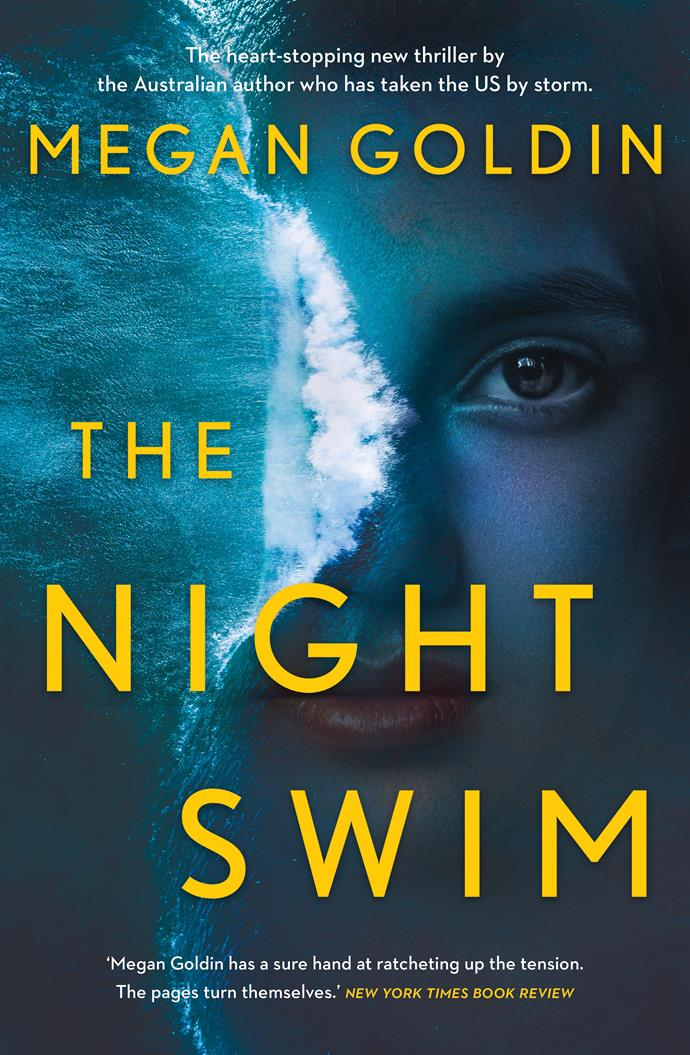 ***The Night Swim* by Megan Goldin** <br><br> *Crime fiction* <br><br> Protagonist Rachel Krall produces true crime podcasts. Rachel's first two seasons reopened cold cases, but now she's reporting on the jury trial of an Olympic swimmer accused of rape.  <br><br> At the same time, a woman named Hannah leaves a note on Rachel's car, asking for her help with the rape and drowning of her sister 25 years earlier, which she claims was murder.  <br><br>  Rachel is intrigued, especially when Hannah says that her sister's killer will be in the courtroom of the current trial.