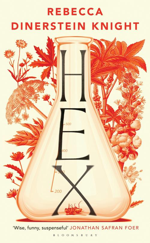 "***Hex* by Rebecca Dinerstein Knight** <br><br> *Thriller* <br><br> Spellbinding novel about Columbia PhD student Nell, a botanist continuing the studies of a graduate who died while researching an antidote to poisonous plants. <br><br> Nell – born in Kansas, where ""luxury was a tuna casserole"" – tries to imagine what happened to Rachel's organs as the toxins spread. <br><br> Class mentor, elitist Joan, is worshipped by Nell. ""For years I've been your smaller self,"" Nell says as she floats outside her door. <br><br> Instead, Joan takes up with Nell's ex, Tom, as couples plant themselves in each other's beds.  <br><br> Prepare for a burningly brilliant pleasure house of obsession, ordeal, disappointment, betrayal and regret."