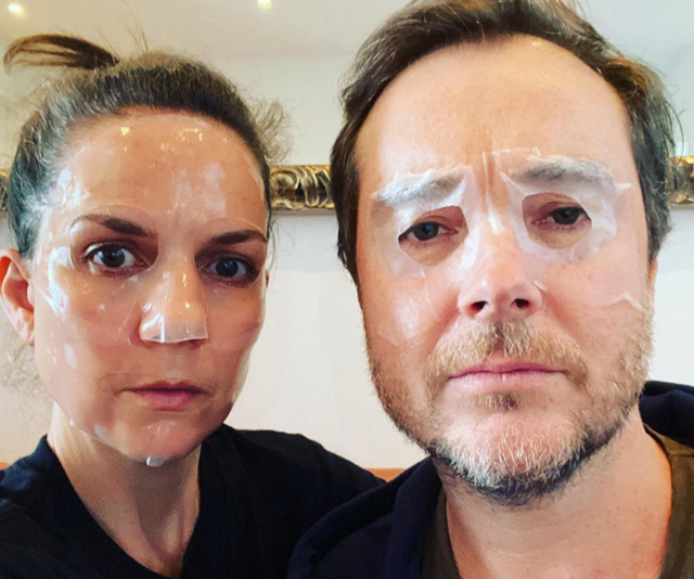 """""""The couple who mask together..."""""""