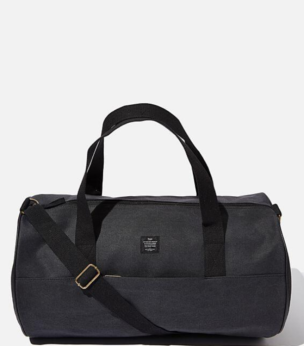"**Stylish duffle**<br><br>  If dad is a gym junkie or always on the go a slick duffle is a practical, yet considered gift. <br><br> Canvas barrel bag, $39.99, Typo, [shop it here.](https://cottonon.com/AU/canvas-barrel-bag/145822-04.html?dwvar_145822-04_color=145822-04&cgid=gifts-for-him&originalPid=145822-04#start=40|target=""_blank"")"