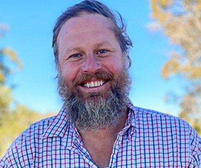 """**Farmer Rob** <br><br>  40, Snowy Mountains, NSW<br><br>  **Type of farm:**  Sheep & Cattle<br><br>  **About:** """"I am an easy going country bloke who is very happy with my life, I'm highly driven, love my work and love to make the most of life."""" <br><br>  **His perfect lady:**  """"Horse riding, training dogs, fishing, camping, reading, veggie gardening and watching  comedy."""""""