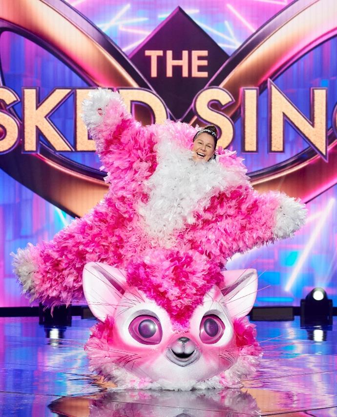 **Kitten:** This furry pal managed to Catfish (geddit?) panellist Urzila Carlson by pretending to be anywhere *but* on stage. Unluckily, the one and only Julia Morris was eventually unmasked - and thus, her centre stage dream was quashed... for now.