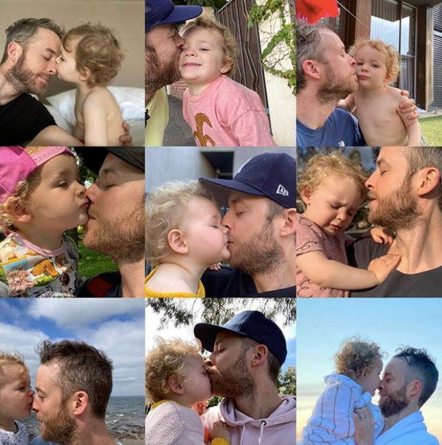 "If there was ever a better dad-joker than Hamish Blake, we're all ears. Honestly, the antics the Aussie comedian gets up to with his [two little tots Sonny and Rudy](https://www.nowtolove.com.au/parenting/celebrity-families/hamish-blake-zoe-foster-blake-kids-63588|target=""_blank"") give us life on a daily basis. Sharing this gorgeous montage of pics with Rudy on her third birthday, Hamish wrote: ""My Rudy Bear. We may only achieve lip to lip coordination on one ninth of our kisses, but you are a shining beam of pure delight 100% of the time. You're 3, welcome to the club kid (I kept my membership from 35 years ago)."""