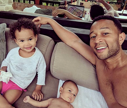 "John Legend's adorable young tots Luna and Miles, whom he shares with wife Chrissy, are his ultimate muses. Speaking recently about life in lockdown with his wife, John said: ""We have our family unit and we love our kids and love hanging out with them. And they especially love being home with us 24/7. We're making the best of a wild situation."""