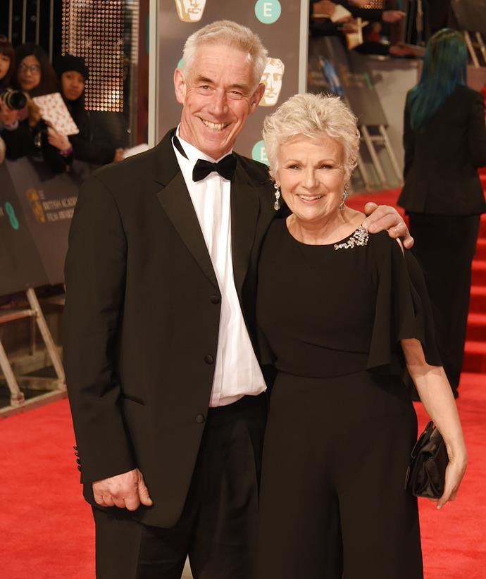 Julie with husband of 23 years Grant Roffey in 2018.