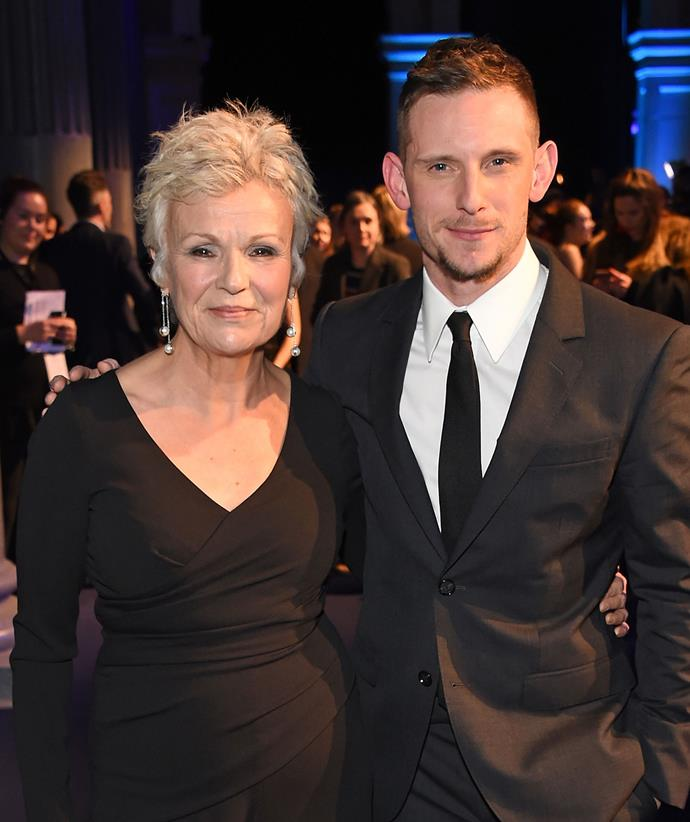 Julie and actor Jamie Bell, who starred with her in 2000's *Billy Elliot.*