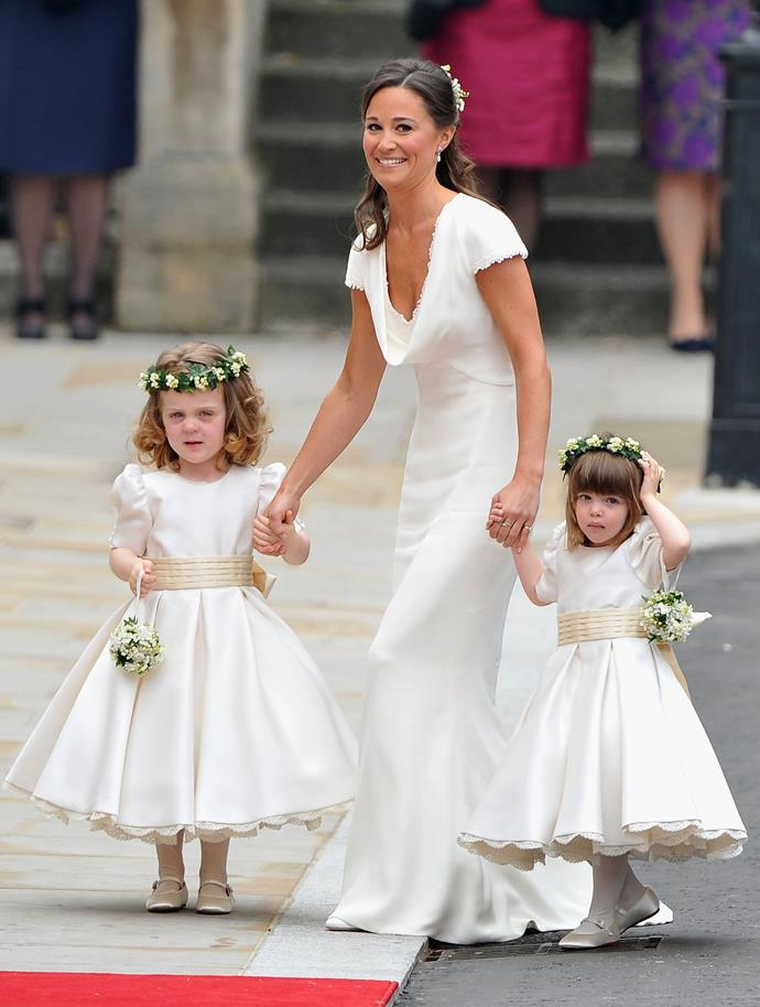 Matching with her fellow younger bridesmaids, you didn't have to look far to know why Pippa made an impression on the world that will, quite frankly, go down in modern history.