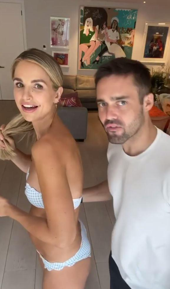 Vogue (who was briefly photobombed - or video-bombed if you will -  by her husband Spencer) sparked a big reaction in the comments section of her video.