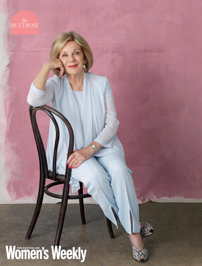 Ita Buttrose is an Australian legend who helped build Australia's magazine industry and nurtured *The Weekly* into the modern Aussie era. Ita represents the legacy a great career of sticking to your guns leaves you with.