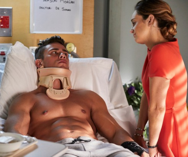 Mason was furious with Brody over his life-altering injury.