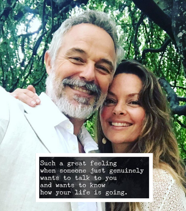 """**Alison Daddo**<br><br>  """"Such a great feeling when someone just genuinely wants to talk to you and wants to know how your life is going,"""" Alison shared in one post. <br><br> """"One of the best gifts I can give or receive is undivided attention. Today is @ruokday Maybe there is someone in your life who needs this gift more than ever, or perhaps it's you? ♥️"""" she then added in the caption."""