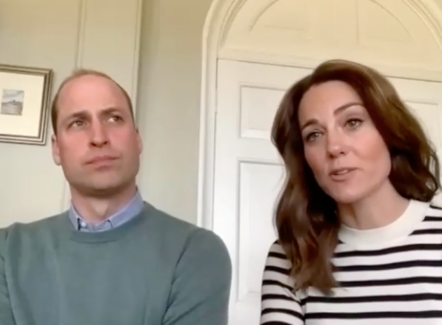 Duchess Catherine spoke of homeschooling George and Charlotte in a candid Zoom interview earlier this year.