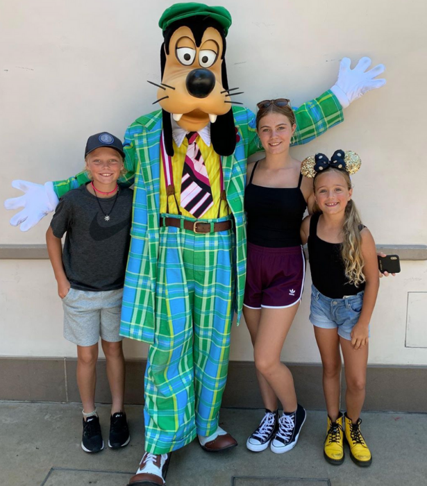 The gang + Goofy is all here!