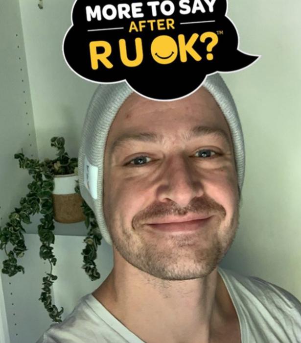Matt shared this image to Instagram to help raise awareness.