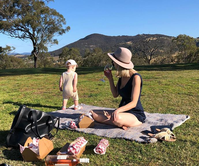 Audrey Wilkinson's gourmet picnics are a must-do.