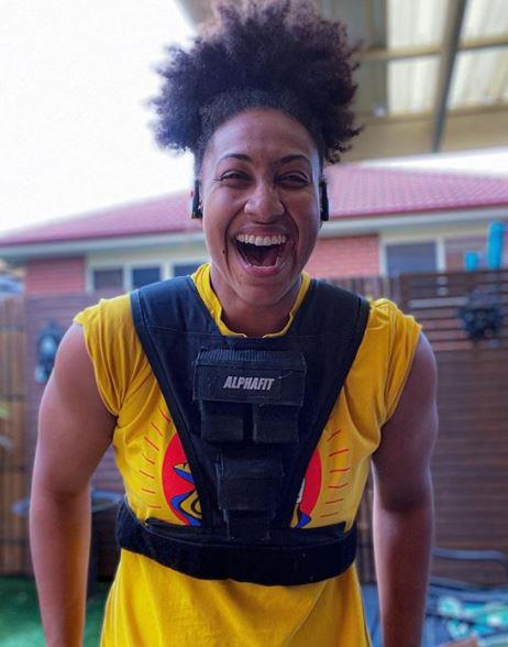 **Sabrina Frederick, AFLW player** <br><br> Women's AFL player Sabrina is set to bring her precision and skill, as well as her own unique personality to the show.