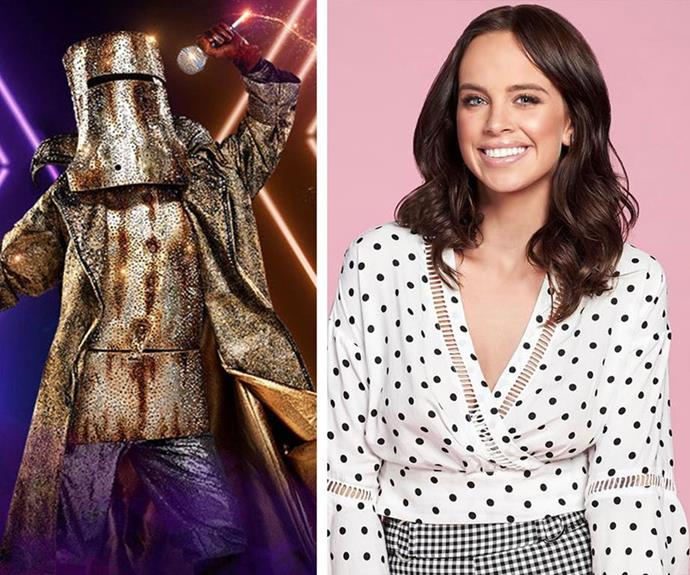 **Bushranger:** Say hello to the one and only singer and *Neighbours* actress and your new *Masked Singer* winner, Bonnie Anderson.