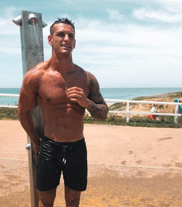 **Joe Woodbury** <br><br>  The season is yet to begin but well known footballer Joe is already being pegged the front runner – and for good reason.  <br><br>  According to *Daily Mail*, It appears Elly is already following the Newcastle rugby player on Instagram, and they may have crossed paths prior to the show.