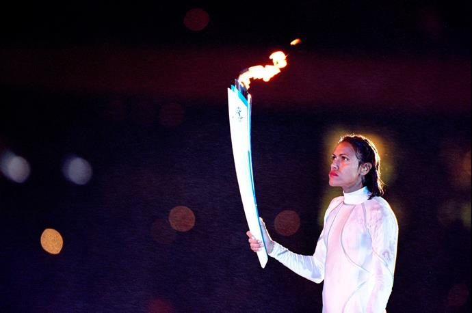 Cathy Freeman - forever an Australian icon.
