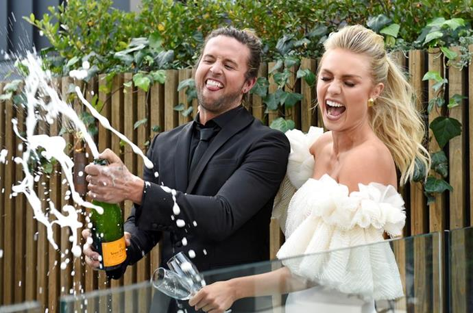 The couple won The Block and Australia's hearts in 2017.