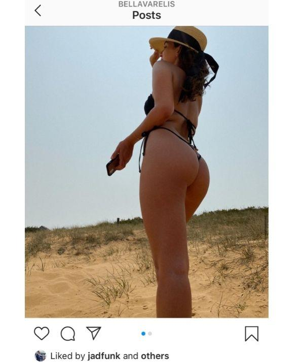 Jad is no stranger to planting a sneaky like on her photos!