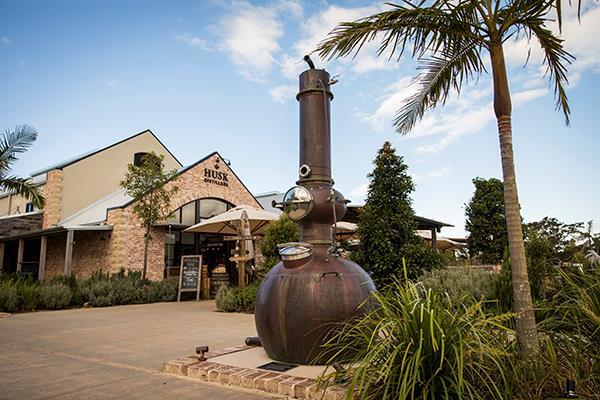 The stunning Husk Distillers in North Tumbulgum, NSW.