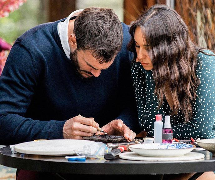"Their romance hasn't been all smooth sailing with the pair clashing over [Locky's strong connection with Irena.](https://www.nowtolove.com.au/reality-tv/the-bachelor-australia/the-bachelor-australia-irena-bella-fight-65231|target=""_blank"")"