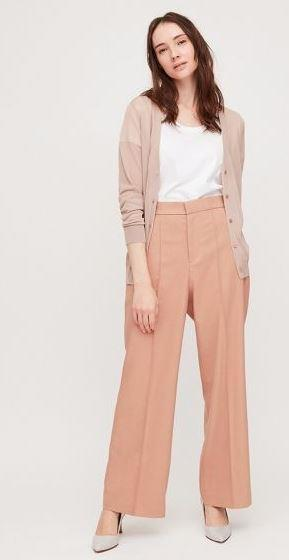 """Uniqlo high waisted wide pants, $29.90. [Buy them online here](https://www.uniqlo.com/au/store/women-high-waisted-wide-pants-4253410022.html#colorSelect