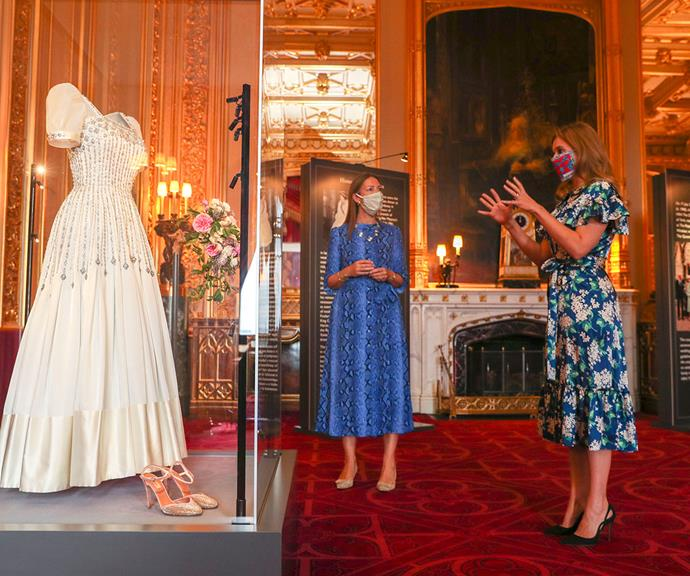 The public will be able to visit the wedding dress display at Windsor Castle from this Thursday.