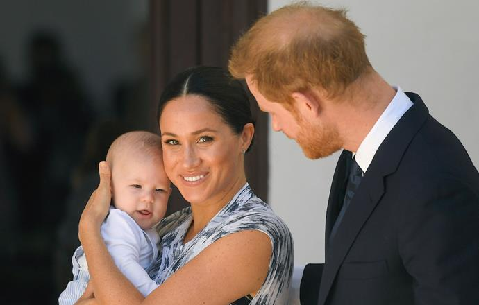 Meghan and Harry share one-year-old son, Archie Harrison.
