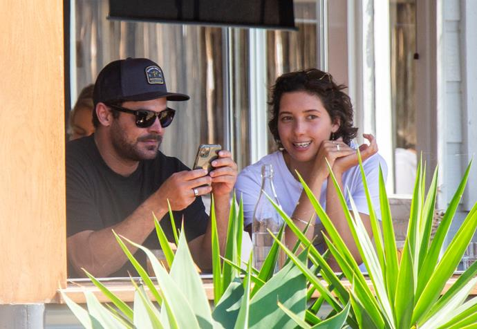 Zac and his girlfriend have been enjoying time together in Byron Bay.