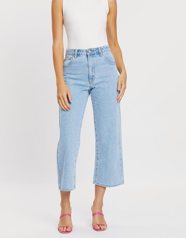 """If you're after a crop, these A Brand denims are the perfect summer investment. $83.97, **[buy them online via The Iconic here](https://www.theiconic.com.au/a-street-a-line-crop-jeans-1009558.html