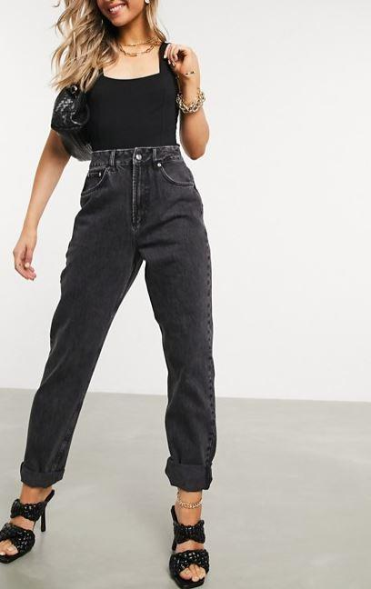 """The grungy 90s have an official 2020 rebrand, and we're here for it. With this in mind, ASOS Design's high rise slouchy mom jeans make a solid investment. $64, **[buy them online here](https://www.asos.com/au/asos-design/asos-design-high-rise-slouchy-mom-jeans-in-washed-black/prd/13414903