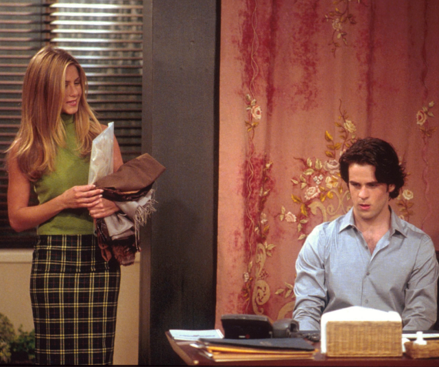 Tag first appeared as Rachel's assistant before she fell for him and they began dating.