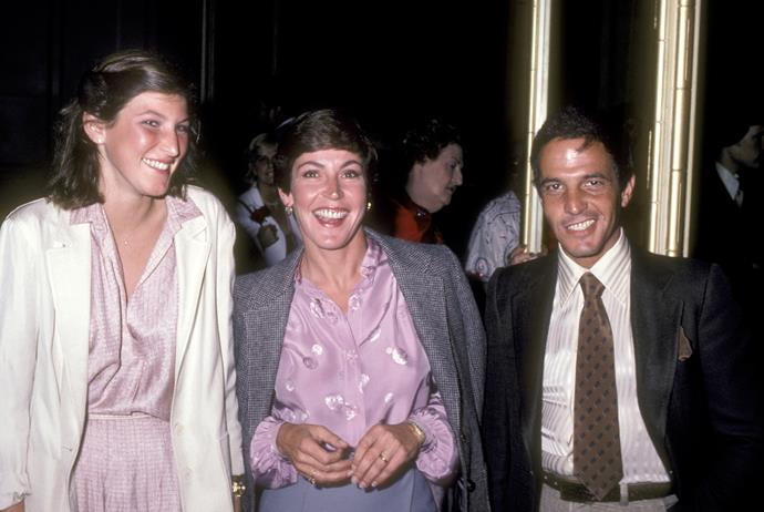 Traci and her mum attend the Presidential Fundraiser Dinner for Governor Jerry Brown on February 29, 1980.