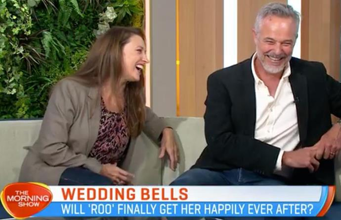 Do we hear wedding bells already? The couple hinted their characters may get their happily ever after.