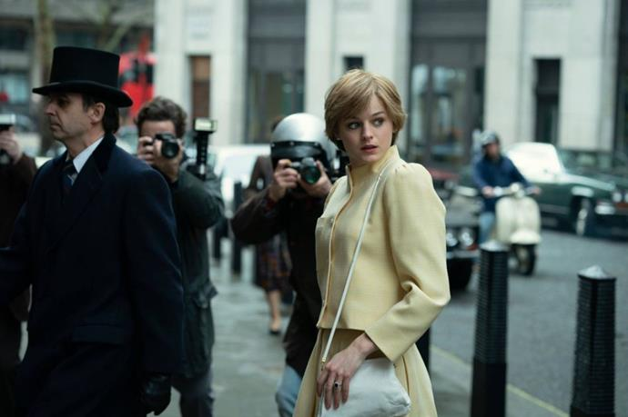 Highly anticipated in season four is the introduction of Princess Diana, played by newcomer Emma Corrin, who already looks remarkably perfect for the role.