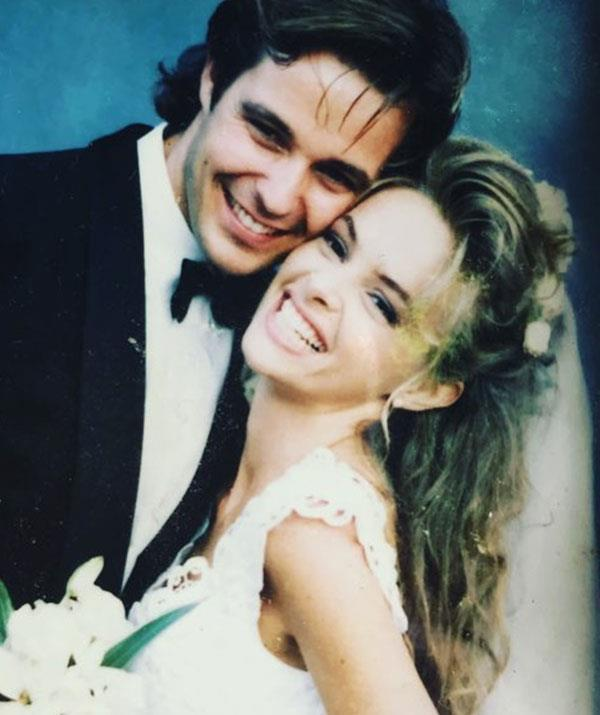 The pair were married back in 1991.