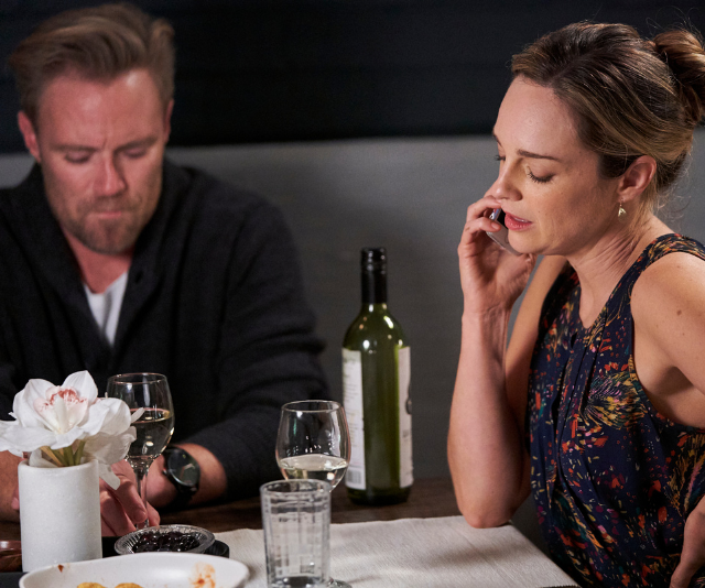 Tori and Christian's first date is interrupted by an urgent call.