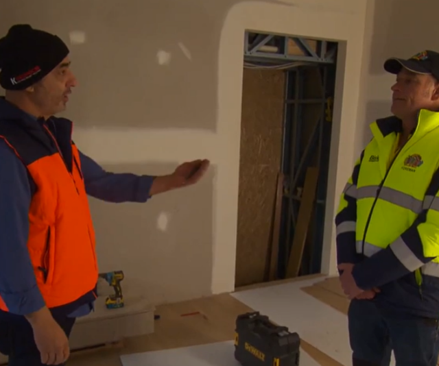 It's on between the renovation duo!