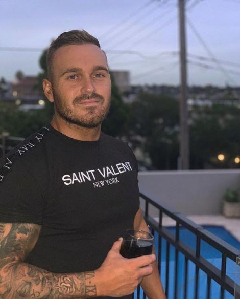 **Eden Dally, *Love Island* star.** <br><br> Reality TV was Eden Dally's forte, but we reckon he's been going extra hard at the gym to prepare for this new gig.