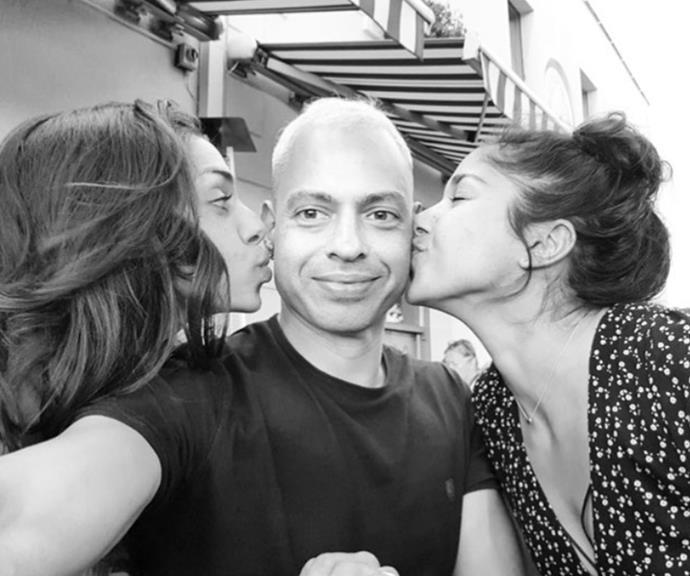 The Stewart siblings (L-R): Lauren, Karl and Sarah.