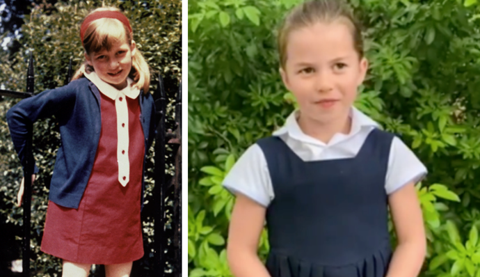 And Princess Charlotte is known to be a dead ringer for Diana.
