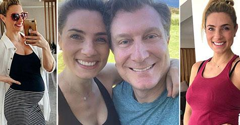 Red Wiggle Simon Pryce And Lauren Hannaford Cutest Baby Bump Moments Now To Love