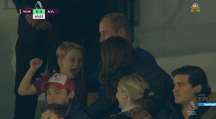Can you imagine the scenes in the Cambridge household as George and Wills saw their team come out victorious?